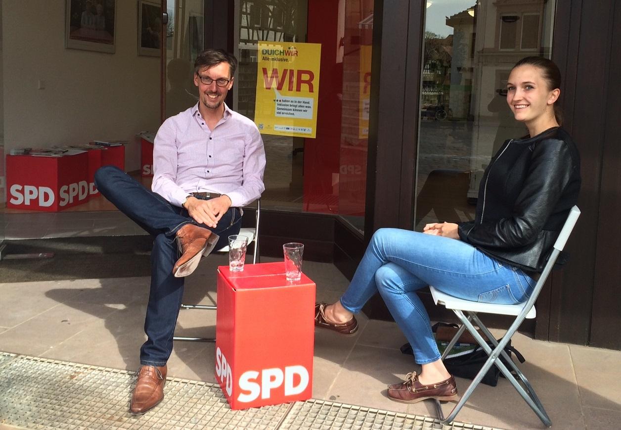 Lars Castellucci Kathi TTIP Abitur