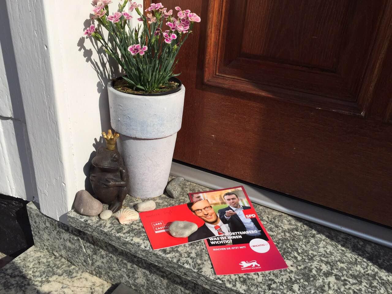 Lars Castellucci Sommertour 2015 Epfenbach Hausbesuche (2)